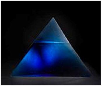 Stanislav Libensky and Jaroslava Brychtova Blue Pyramid, 1993 Estimate: $50,000 - 70,000