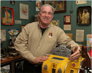 "The late Bob Levy was known internationally by the nickname ""Mr. Coin-op,"" owing to his expertise in the field of antique coin-operated machines. His personal collection of antique gambling machines will be auctioned Sept. 3, 2011 at Morphy's. Morphy Auctions file photo."