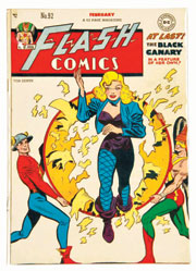 1948 Flash Comics #92, est. $1,000-$1,500. Morphy Auctions image.