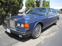 1988 Rolls-Royce Silver Spur. Don Presley Auctions image.