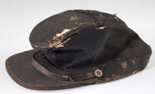 Confederate North Carolina Contract Forage Cap, Sold $14,375