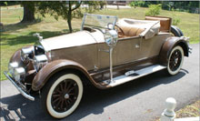 1926 Pierce-Arrow Model 80 rumble-seat runabout, 1999 AACA Senior National First Prize Winner. William H. Bunch Auctions image.