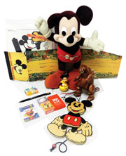 A huge selection of Disney merchandise and memorabilia will be auctioned. Don Presley Auction image.