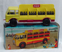 Boxed Coca-Cola truck made for the Italian market. John W. Coker Auctions image.