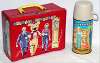 Captain Kangaroo lunchbox and Thermos. John W. Coker Auctions image.