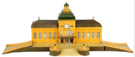 Marklin Leipzig train station, est. $4,000-$6,000. Morphy Auctions image.