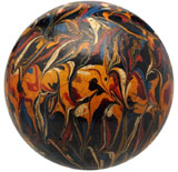 Circa-1870 gutta percha marble with multiple colors creating an 'iris' effect, est. $3,000-$5,000. Morphy Auctions image.