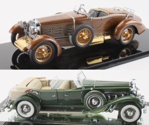 Gerald Wingrove 1924 Hispano-Suiza No. 3 (top) 1933 Derham Tourster Duesenberg.