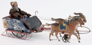 Althof Bermann Santa in Sleigh