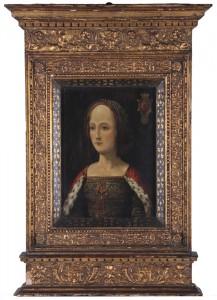 Portrait of Gabrielle de Bourbon