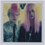 1980s Polaroid photograph of Martin Burgoyne and Madonna, who were close friends and roommates, estimate $600-$900.